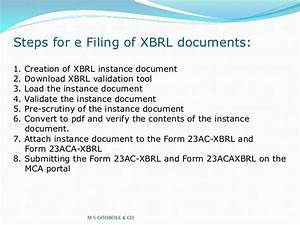 xbrl With xbrl documents