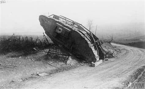 British Battle of Cambrai Tanks