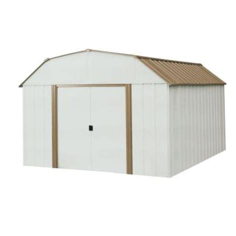 Arrow 10x12 Metal Shed Manual by Arrow Dakota 10 Ft X 14 Ft Steel Shed Dk1014 The Home