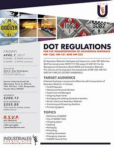 PRMAU:DOT Regulations – Asociación de Industriales de ...