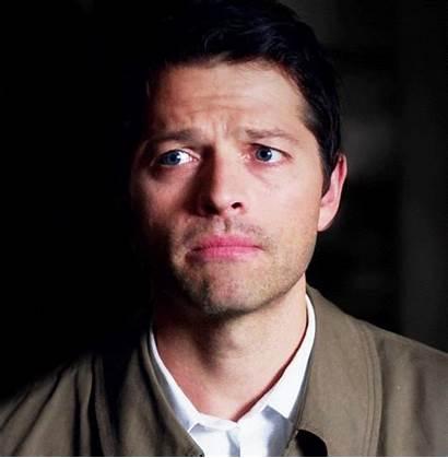 Castiel Misha Collins Sad Supernatural Face Puppy