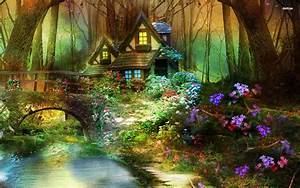 Enchanted Forest Hut