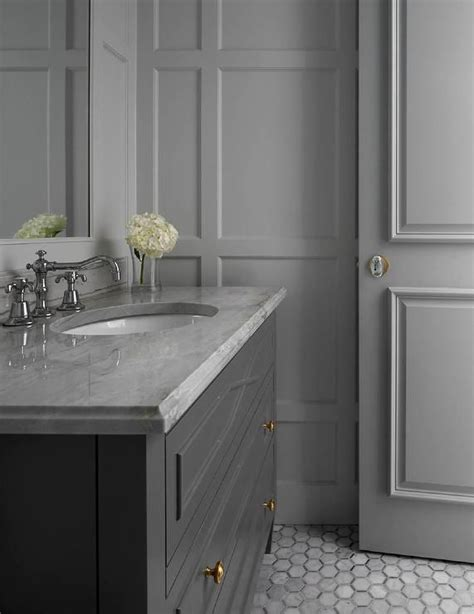 gray bathroom vanities ideas  pinterest grey bathroom cabinets grey bathroom