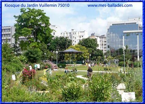 Le Jardin Villemin Dans Paris (75010