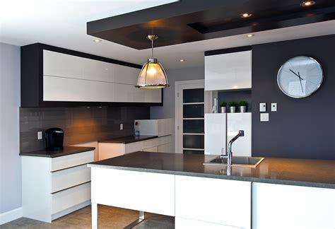 faux plafond cuisine design eclairage faux plafond cuisine projecteurs led cuisine