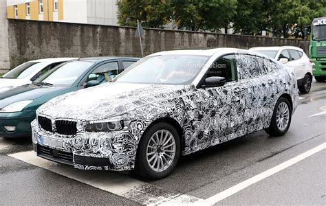 2018 Bmw 5 Series Gt Spied Again, We Get A Glimpse Of The