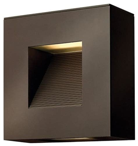 square outdoor wall sconce by hinkley lighting