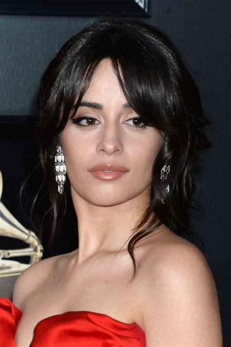 Camila Cabello Wavy Dark Brown Face Framing Pieces