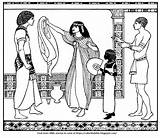 Joseph Potiphar Wife Coloring Pages Bible Accused Template Seduce sketch template