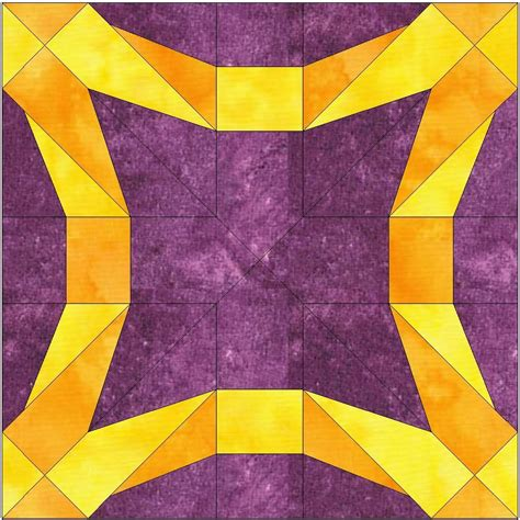 foundation pieced wedding ring paper piece quilting block pattern in pdf quilt patterns