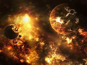 Fire Planet by ALKAP0NE on DeviantArt