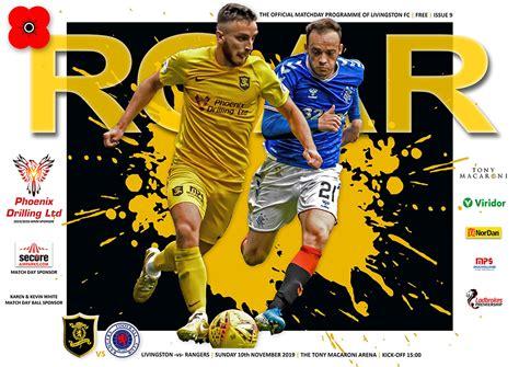 ROAR: Rangers edition - Livingston Football Club