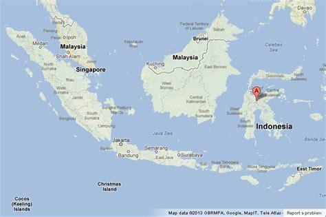 sulawesi  map  indonesia