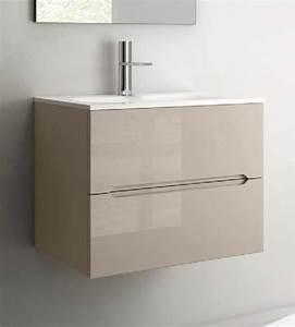 Waschtisch 50 X 40 : smyle waschtisch mit unterschrank 75 cm heim bad ~ Bigdaddyawards.com Haus und Dekorationen