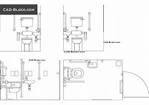Free autocad ada bathroom blocks thedancingparentcom for Autocad ada bathroom blocks