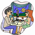 Clipart Dinner Dine Eating Clip Dining Cliparts