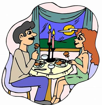 Dinner Clipart Eating Clip Dine Dining Cliparts