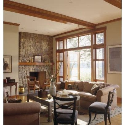 paint color ideas for living room with wood trim the