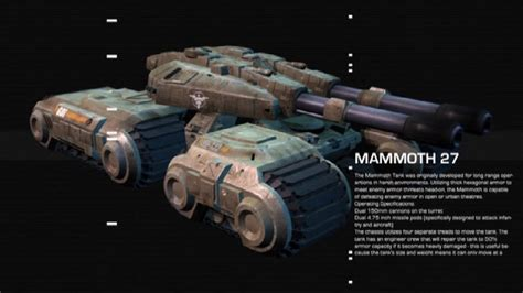 mammoth tank news tiberian  productions mod db