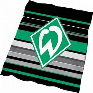 Werder Bremen Bettwäsche : werder bremen fleecedecke downtown 150x200cm ~ A.2002-acura-tl-radio.info Haus und Dekorationen