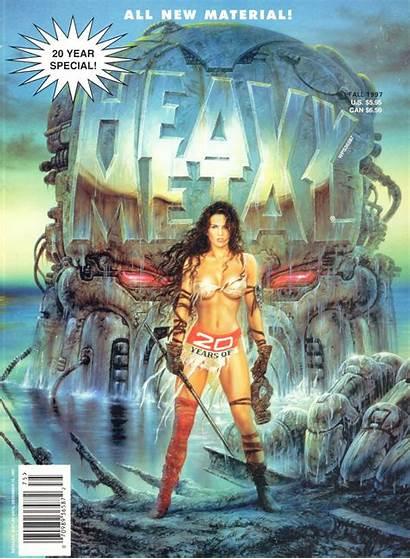 Metal Heavy Magazine Royo Luis Special Corben