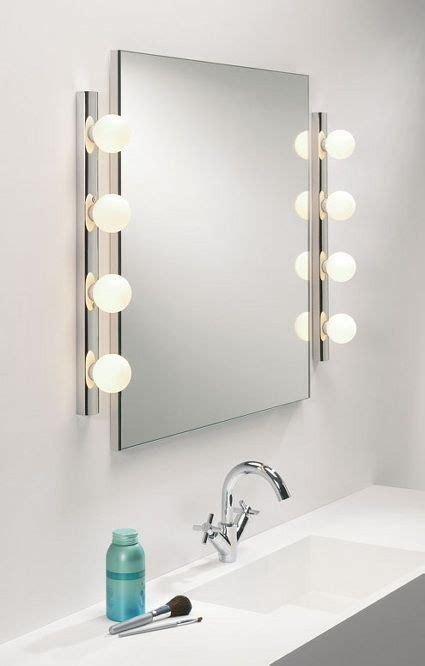 best 25 bathroom mirror lights ideas on wall