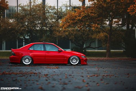lexus is300 stance black lexus is300 stance image 247