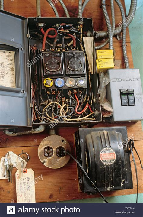 Power Fuse Box City by Dangerous Electrical Wiring Stock Photos Dangerous
