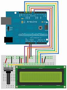 Connecting Arduino Lcd Display Code