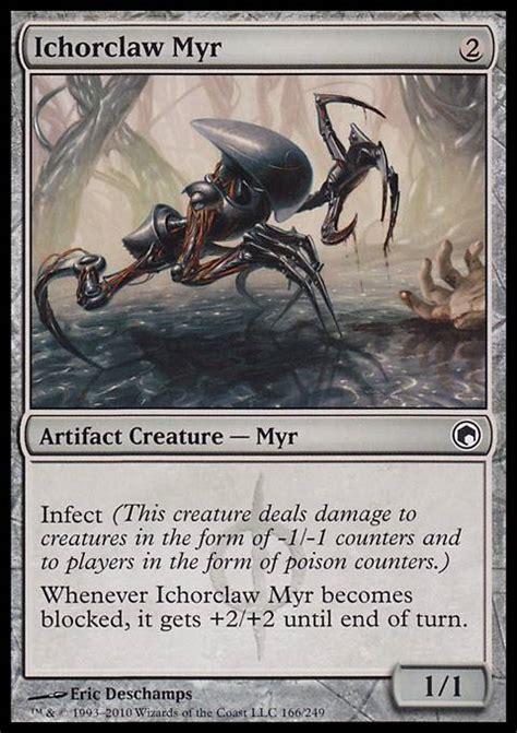 mtg myr deck tappedout ichorclaw myr som mtg card