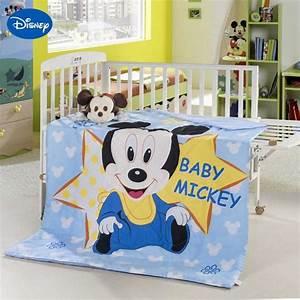 Baby Bettwäsche Günstig : mickey mouse krippe bettwaesche set fuer baby dibinekadar ~ A.2002-acura-tl-radio.info Haus und Dekorationen