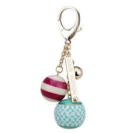 louis vuitton candy ball monogram pattern gold plated bag charm party queen dupe