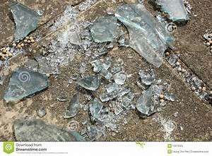 Broken Glass Pieces Royalty Free Stock Photo - Image: 12676325