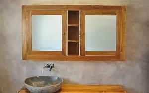 Spiegel Für Bad : spiegel und spiegelkasten aus holz f r das badzimme ~ Indierocktalk.com Haus und Dekorationen