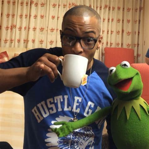 ti sips tea  kermit  frog rap  rap