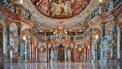 Libraries Schussenried Wiblingen Library Architecture Thedailybeast Connor
