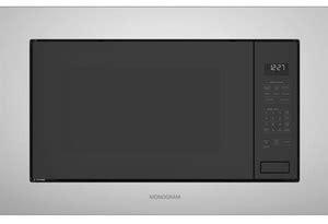 zebslss monogram   cu ft built  microwave oven  sensor cooking controls