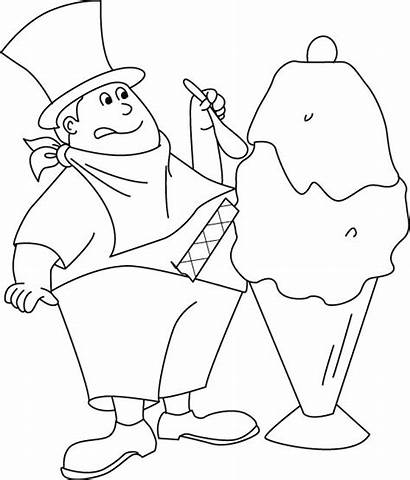 Coloring Pages Ice Cream Maker Bestcoloringpages Sheets