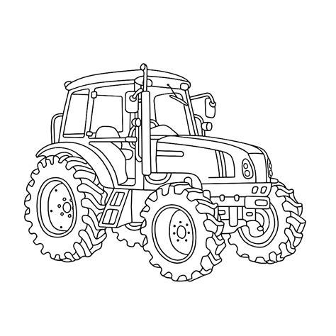 Afbeelding Tractor Kleurplaat by Leuk Voor Kleurplaat Coloring Pages Tractors