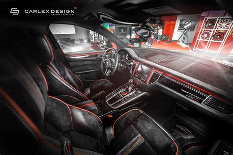 porsche macan   berserk red  black interior