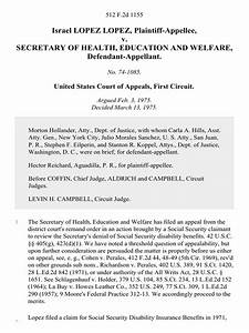 Israel Lopez Lopez V  Secretary Of Health  Education And