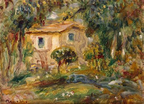 landscape le cannett pierre auguste renoir hermitage