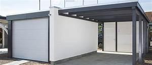 Carport Holz Modern : carports aus metall gro e auswahl bei holzland vogt ~ Markanthonyermac.com Haus und Dekorationen