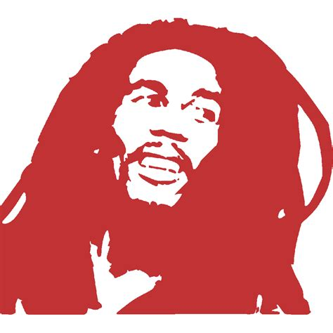 Stickers Stickers Auto Moto Bob Marley   Art & Stick