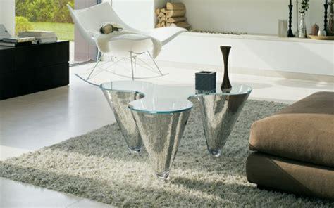 glastisch wohnzimmer design  greendayde
