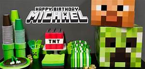 Minecraft Party Ideas Birthday Express