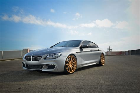 bmw  gran coupe  velos  forged wheels