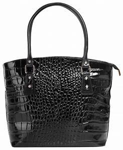 Handtasche Mit Zapfhahn : cluty leder damen handtasche mit croco pr gung otto ~ Yasmunasinghe.com Haus und Dekorationen