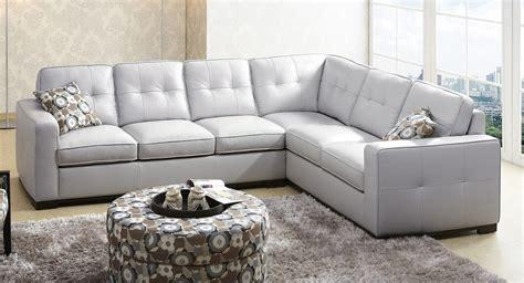 abbyson living leather sofa abbyson living sienna gray leather sectional sofa ks 1591