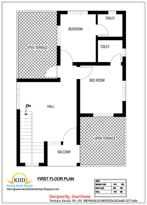 house plan  elevation  sq ft kerala home